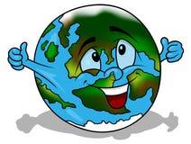 Cartoon Earth Royalty Free Stock Photo