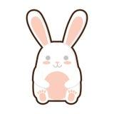 Cartoon easter bunny decoration Royalty Free Stock Photography
