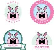 Cartoon Easter Bunny Graphic Royalty Free Stock Photos