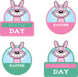 Cartoon Easter Bunny Graphic Stock Images