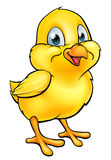 Cartoon Easter Chick. A cartoon Easter chick yellow baby chicken bird royalty free illustration
