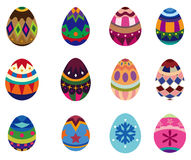 Cartoon Easter Egg Royalty Free Stock Photo