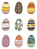Cartoon Easter Egg Stock Photos