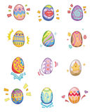 Cartoon Easter Egg Royalty Free Stock Images