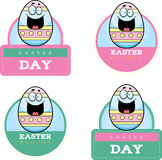Cartoon Easter Egg Graphic Royalty Free Stock Photo