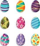 Cartoon Easter egg icon Royalty Free Stock Photos