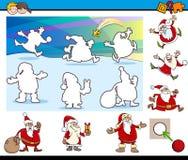 Cartoon educational game Stock Photography