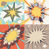 Cartoon Effects  set Stock Images