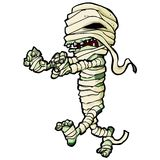 Cartoon Egyptian Mummy Stock Image