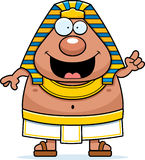 Cartoon Egyptian Pharaoh Idea Royalty Free Stock Photo