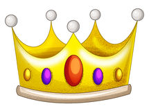 Cartoon element - crown Royalty Free Stock Photography