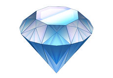 Cartoon element - diamond Royalty Free Stock Photo