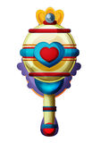 Cartoon element - scepter - illustration for the children Stock Photo