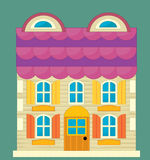 Cartoon element - toy - illustration for the children Stock Photography
