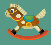 Cartoon element - toy - illustration for the children Royalty Free Stock Photos