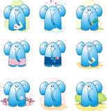 Cartoon Elephant. Image of the cartoon Elephant royalty free illustration