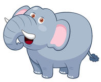 Cartoon Elephant Stock Photography
