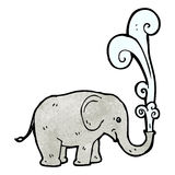 Cartoon elephant Royalty Free Stock Images