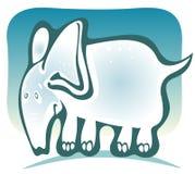 Cartoon elephant Stock Photos