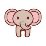 Cartoon elephant animal image Stock Image
