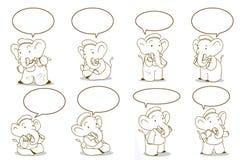 Cartoon elephant Royalty Free Stock Photo