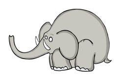 Cartoon elephant, vector Royalty Free Stock Photography