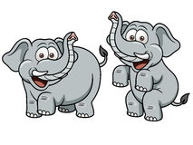 Cartoon Elephant. Vector illustration of Cartoon Elephant Royalty Free Stock Photography