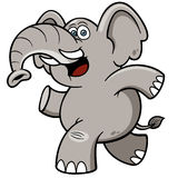 Cartoon Elephant. Vector illustration of Cartoon Elephant Royalty Free Stock Image