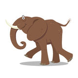 Cartoon Elephant, vector Royalty Free Stock Photo