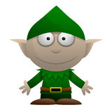 Cartoon Elf Royalty Free Stock Photos