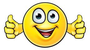 Emoticon Thumbs Up Icon royalty free illustration
