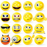 Cartoon Emoticons Royalty Free Stock Photography