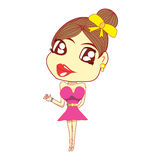 Cartoon emotion Royalty Free Stock Images