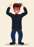 Cartoon emotions design. Royalty Free Stock Images