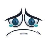 Cartoon emotions design. Royalty Free Stock Image