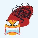 Cartoon emotions design. Royalty Free Stock Photo
