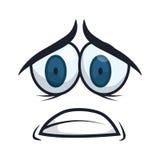 Cartoon emotions design. Stock Photography