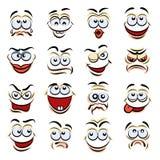 Cartoon emotions Royalty Free Stock Photos