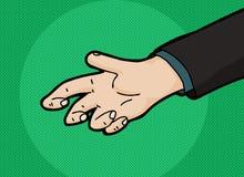 Cartoon Empty Hand Stock Photos