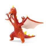 Cartoon evil dragon Royalty Free Stock Photos