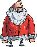 Cartoon evil Santa Stock Photos