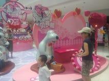 The cartoon exhibition in Shenzhen Shekou Garden City Stock Photography