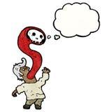 Cartoon exorcism Stock Photography