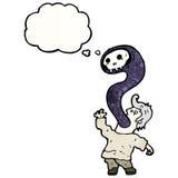 Cartoon exorcism Royalty Free Stock Photo