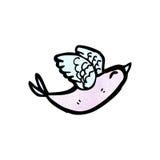 cartoon exotic bird Royalty Free Stock Images