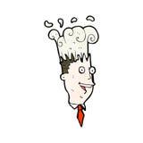 Cartoon exploding head Royalty Free Stock Photos