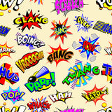 Cartoon Explosions Wallpaper Royalty Free Stock Images