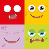 Cartoon Expression face Stock Photo