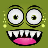 Cartoon expression monster Royalty Free Stock Photos