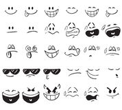 Cartoon Expressions Stock Image